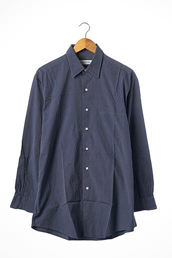 Chemise manches longues bleu BROOKS BROTHERS pour homme