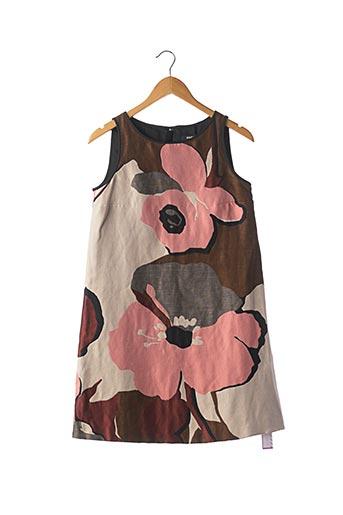 Robe courte rose PAULE KA pour femme