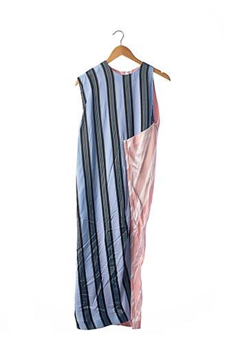 Robe longue rose ACNE STUDIOS pour femme