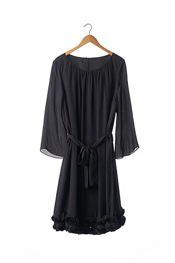 Robe mi-longue bleu MARINA RINALDI pour femme