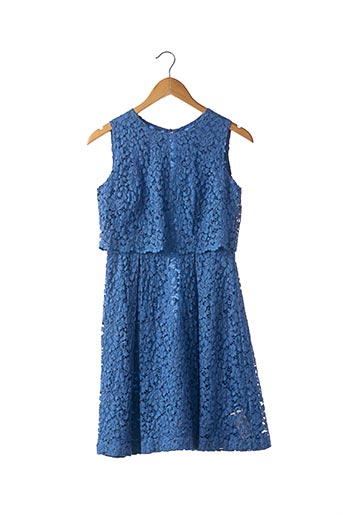Robe mi-longue bleu SONIA RYKIEL pour femme