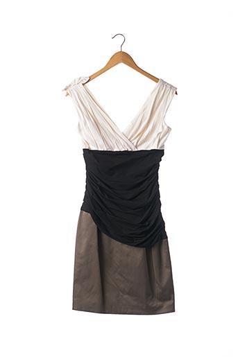 Robe mi-longue gris PAULE KA pour femme