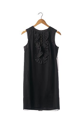 Robe mi-longue noir CHLOE pour femme