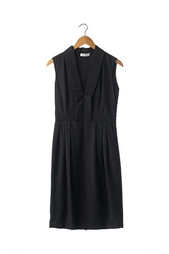 Robe mi-longue noir COSTUME NATIONAL pour femme