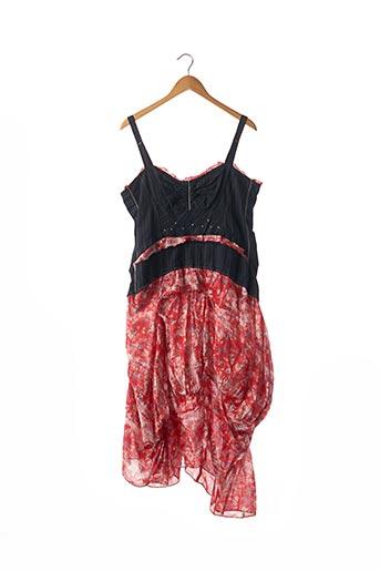 Robe mi-longue rouge MARITHE & FRANCOIS GIRBAUD pour femme