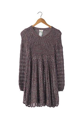 Robe pull violet CHLOE pour femme