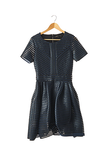 Robe courte bleu MAJE pour femme