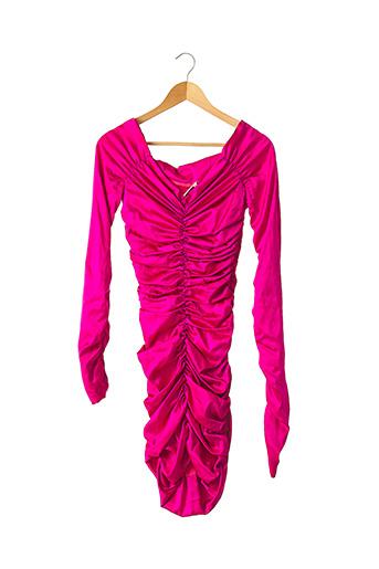 Robe courte rose ANGELO TARLAZZI pour femme