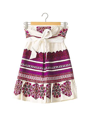 Robe courte violet GUCCI pour femme