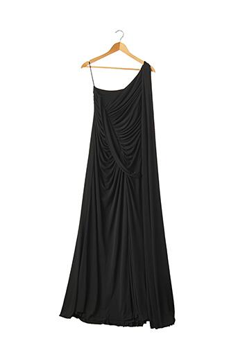 Robe longue noir ELIE SAAB pour femme