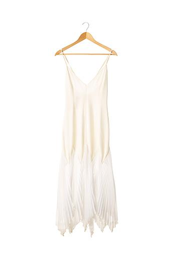 Robe mi-longue beige ARMANI EXCHANGE pour femme