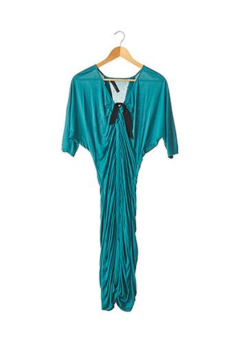 Robe mi-longue bleu AMANDA WAKELEY pour femme