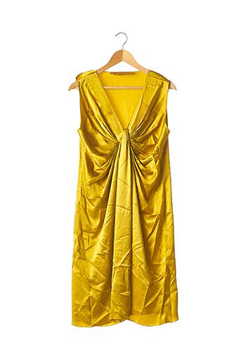 Robe mi-longue jaune LANVIN pour femme