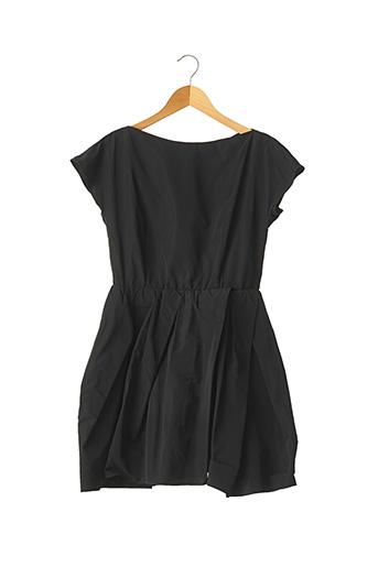 Robe mi-longue noir CARVEN pour femme