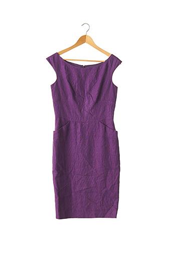Robe mi-longue violet AGNES B pour femme