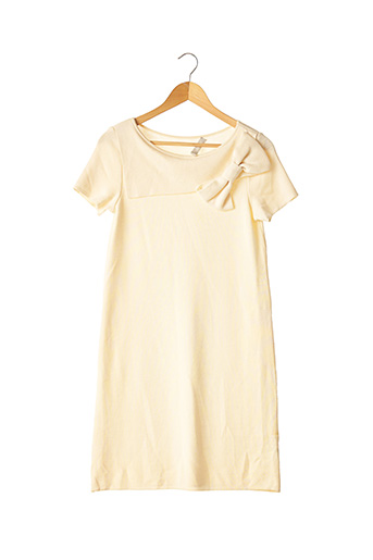 Robe pull beige CARINE pour femme