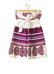 Robe courte violet GUCCI pour femme seconde vue