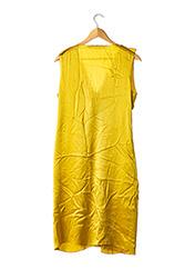 Robe mi-longue jaune LANVIN pour femme seconde vue