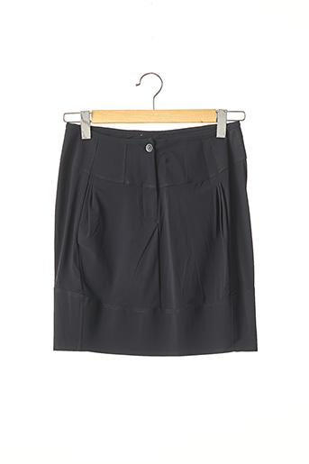 Jupe courte bleu MARITHE & FRANCOIS GIRBAUD pour femme