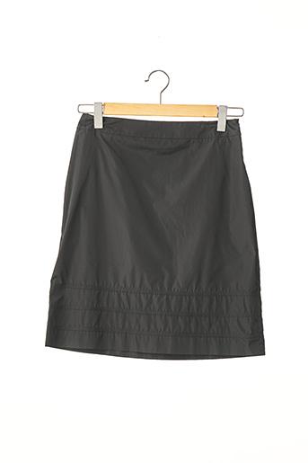 Jupe mi-longue noir PAULE KA pour femme
