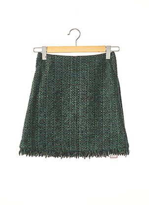 Jupe courte vert PAULE KA pour femme
