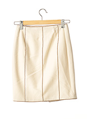 Jupe courte beige PAULE KA pour femme seconde vue