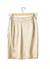 Jupe mi-longue beige PAULE KA pour femme seconde vue