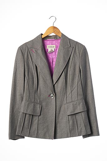 Veste chic / Blazer gris FERAUD pour femme