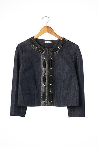 Veste en jean bleu PAULE KA pour femme