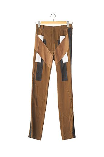 Pantalon chic marron GIVENCHY pour femme