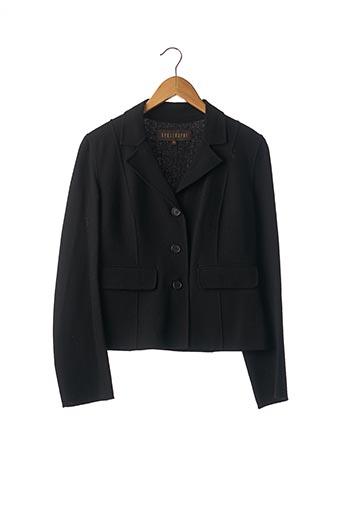 Veste chic / Blazer noir APOSTROPHE pour femme