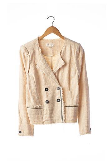 Veste chic / Blazer beige ISABEL MARANT pour femme