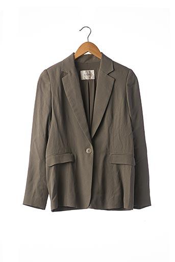 Veste chic / Blazer vert GIGUE pour femme