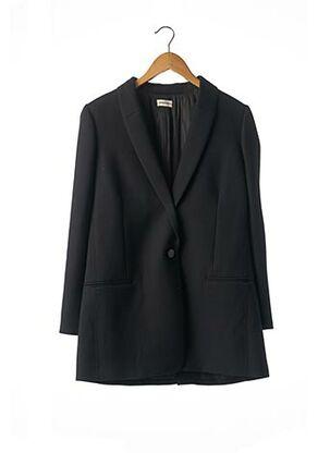 Manteau long noir BY MALENE BIRGER pour femme