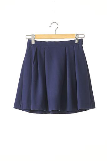 Jupe courte bleu BY MALENE BIRGER pour femme