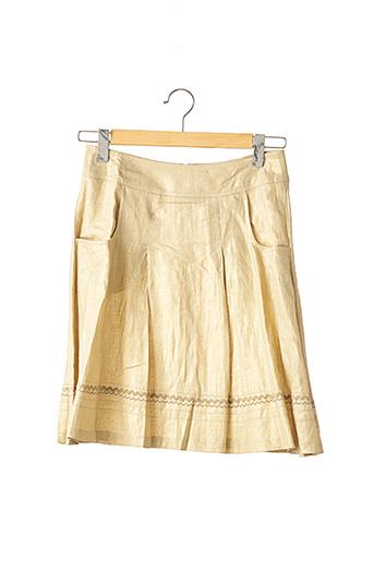 Jupe mi-longue beige BARBARA BUI pour femme