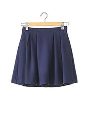 Jupe courte bleu BY MALENE BIRGER pour femme seconde vue