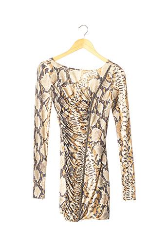 Robe courte beige BLUMARINE pour femme