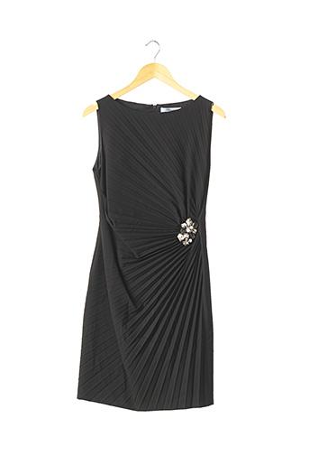 Robe mi-longue noir BLUMARINE pour femme