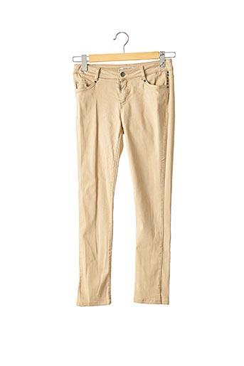 Pantalon 7/8 beige MAX & MOI pour femme