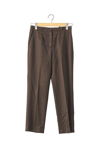 Pantalon 7/8 marron FERAUD pour femme