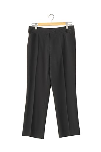 Pantalon 7/8 noir DEVERNOIS pour femme