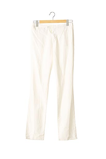 Pantalon chic blanc ALESSANDRO DELL'ACQUA pour femme