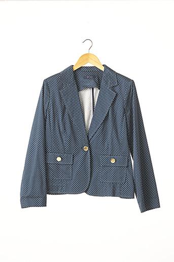 Veste casual bleu WEILL pour femme