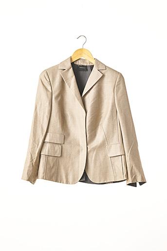 Veste chic / Blazer beige A-K-R-I-S pour femme