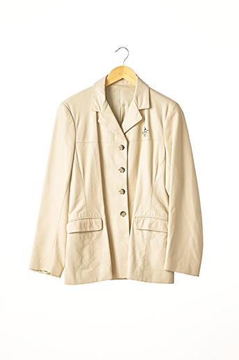 Veste chic / Blazer beige DONALDSON pour femme