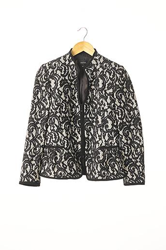 Veste chic / Blazer noir ANTEA pour femme