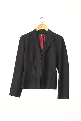 Veste chic / Blazer noir CORINNE SARRUT pour femme