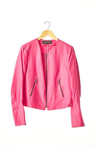 Veste chic / Blazer rose APOSTROPHE pour femme