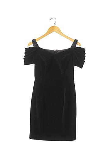 Robe courte noir ANELLA pour femme